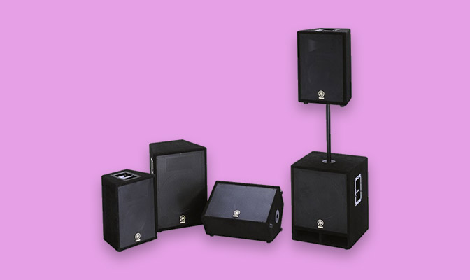Yamaha A Series Speakers